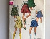 Skirt/skort! A vintage 60's sewing pattern!