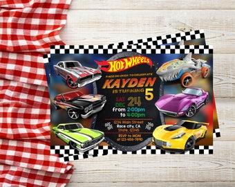 Hot Wheels Invitation,Hot Wheel Party,Hot Wheels Birthday Party,Hot Wheels Birthday,Hot Wheels Birthday Invitation,Hot Wheels-F1240