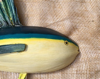 Palm Frond Fish - Yellowfin Tuna