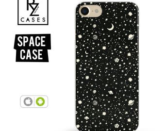 Space Phone Case, Planets Phone Case, iPhone 7 Case, Space iPhone Case, Gift for Her, iPhone 7 Plus Case, iPhone 6S Case, Planets On Space
