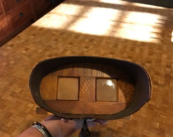 Maple wood stereoscope