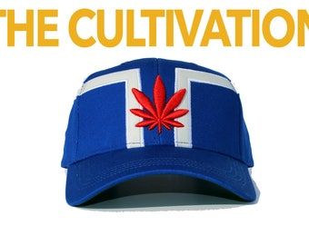 The Cultivation Crown   dopeIDeas Inc.   Limited Edition Designer Vegan Weed Dad Cap