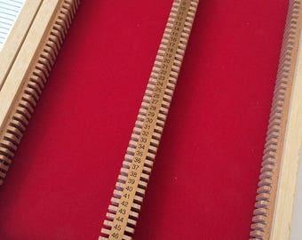 Wooden Microscope Prepared Slide Storage Case Box 100 Slides