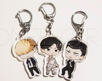 Lookism 2 inch Charms (Double Sided)