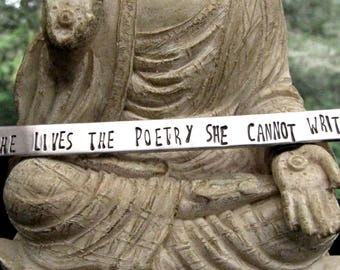She Lives the Poetry She Cannot Write - Oscar Wilde