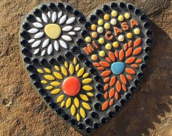 MI CASA Mosaic Plaque
