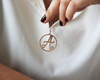 Letter Necklace, Alphabet Necklace,Silver Personalized Necklace, Initial Necklace, Custom Alphabet Necklace,Letter Necklace, Valentines Gift