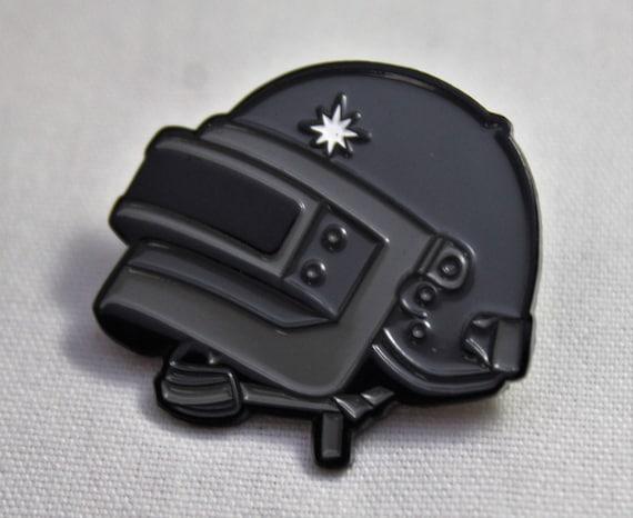 PUBG Level 3 Helmet Soft Enamel Pin Player Unknown's