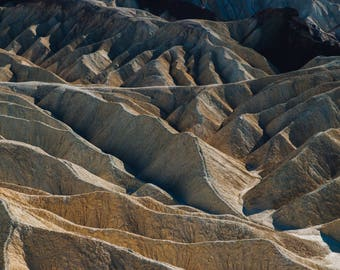 Death Valley, California Travel Photograph, Landscape Print