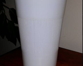 Vintage Hazel Atlas Milk Glass Vase/Flower Vase