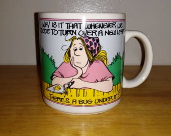 Vintage 1988 For Better or For Worse Coffee Mug/Tea Cup