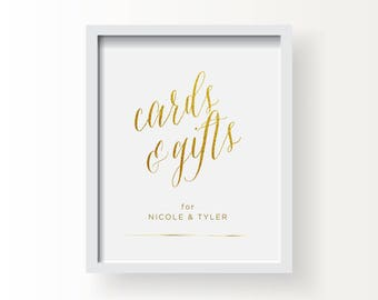 8x10_Gold Wedding_Custom Cards & Gifts