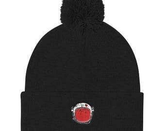 Choose Kind Anti Bullying Helmet Pom Pom Knit Cap