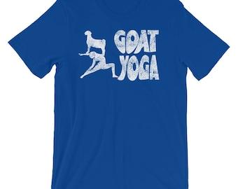 Retro Goat Yoga Funny T-Shirt