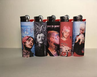 Tribute to Lil Peep Lighter
