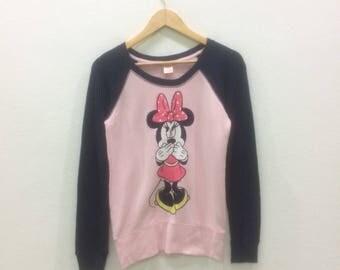 Minnie Mouse Disney Sweatshirts For Women Crewneck Jumper Nice Design
