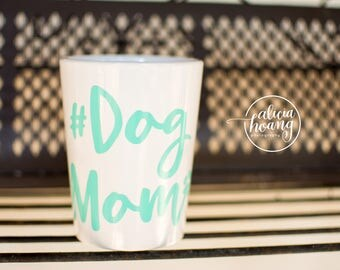 DOGMOM Mug, Pet lover gift, Pet Coffee Mug, Custom pet Mug, Pet Lover Mug, Cute pet mug, Dog Mug, Dog Mom Mug, #DOGMom
