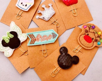 Mini Magical Planner Clips