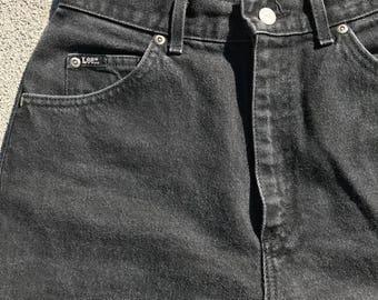 90s Black Lee Jeans Size 26