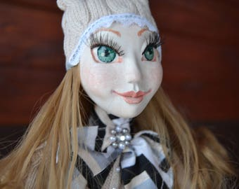 Art doll  interior doll collectible doll decoration