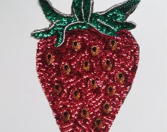 sequins patch popular Retro embroidered patch-PL30