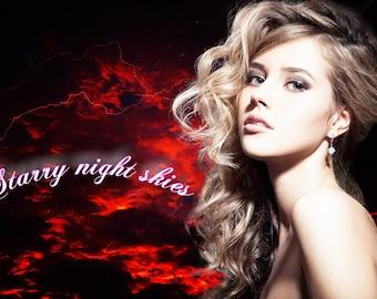 30 Night sky photoshop overlay