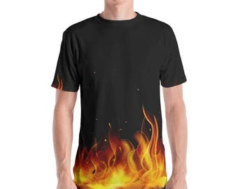 ON Fire Men's V-neck