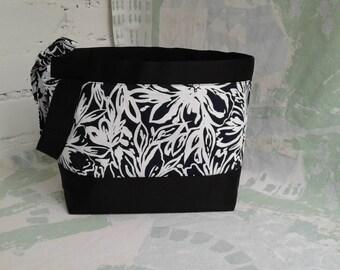 Sock project bag Knitting bag Knitting tote Knitting project bag Yarn project bag Knitters gift bag Crochet project bag Bag for knitting