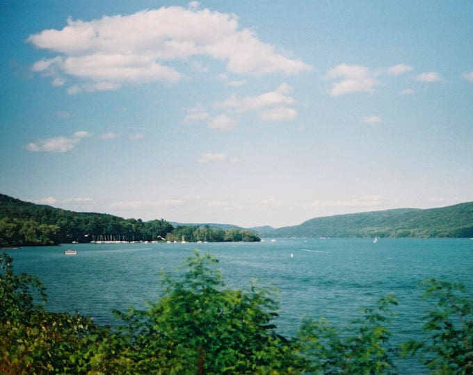 Otsego Lake, Cooperstown, NY - 8x10 Digital C-Print.