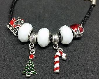 Deluxe Christmas Charm Bracelet