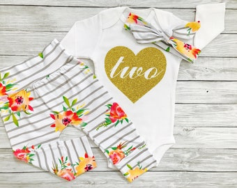 Second Birthday Girl, Second Birthday Outfit Girl, Second Birthday Shirt, Second Birthday Outfit, Second Birthday Girl Outfit