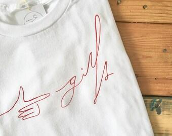 """""""Girls"""" T-shirt"""