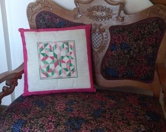 Patchwork Pattern Pillow Sham