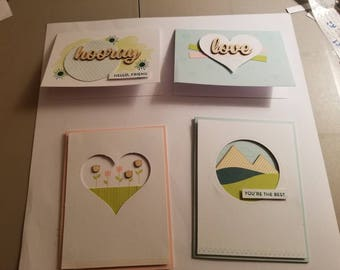Friendship and spring cards
