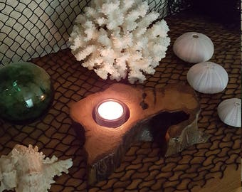 Driftwood candle (#5)