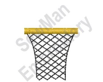Basketball Hoop - Machine Embroidery Design