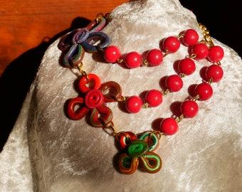 Floral motifs Necklace