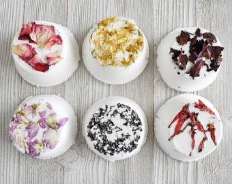 Rose & Flower Natural Bath Bombs