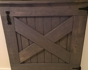 Handcrafted Wood Baby Gate
