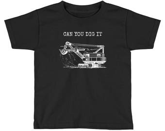 Can You Dig It Kids Short Sleeve T-Shirt