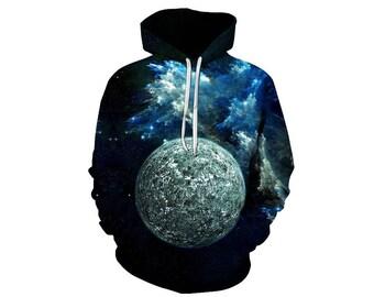 Galaxy Hoodie, Galaxy Sweatshirt, Galaxy, Galaxy Jumper, Galaxy Hoodies, Space, Space Hoodie, 3d Hoodie, 3d Hoodies, Hoodie - Style 40