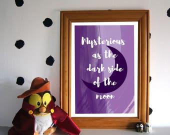 Mulan Art Print - I'll Make a Man Out of You - Disney Quote Print - Mulan Quote Art Print - Disney Inspired
