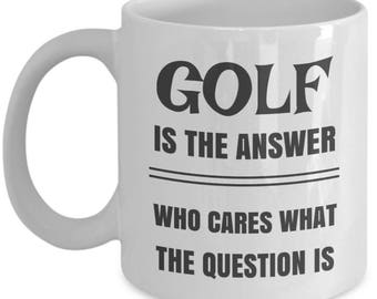 Golf Is The Answer