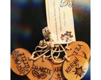Personalised Christmas Tree Ornament Decoration