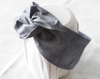 """Headband tie """"Stormy"""""""