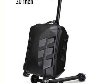 """20"""" Hardshell Luggage w/Scooter"""