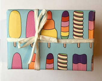 Ice Lolly Gift Wrap