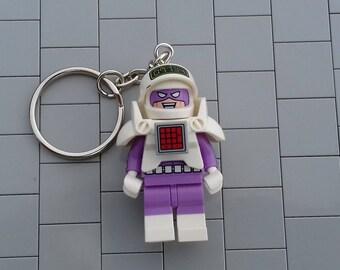"LEGO Batman Movie ""The Calculator"" Minifigure Key Ring"