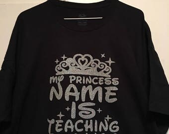 My Princess Name is Teaching Beauty