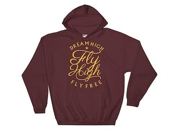 Dreamer Hoodie - Motivation Hoodie - Fitness Hoodie - Inspirational Hoodie - Graphic Hoodie - Hooded Sweatshirt
